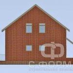 фасад дома из пеноблоков 8*8
