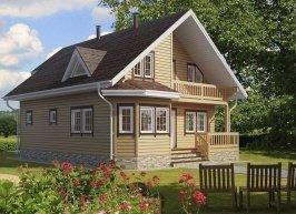 Дом 11х9 модель 1