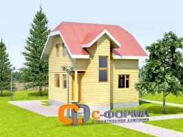 Дом 6х6 модель 2