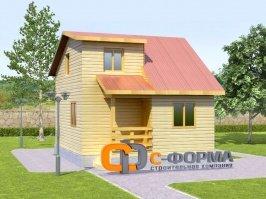 Дом 6х7 модель 2