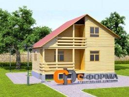 Дом 6х8 модель 2