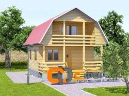 Дом 6х8 модель 7