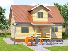 Дом 6х9 модель 3