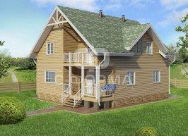 Дом 10х9 модель 1
