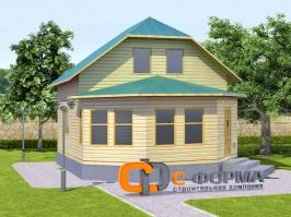 Дом 7х9 модель 2