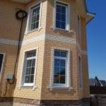 готовый дом из кирпича под продажу
