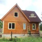 Дом из бруса 6х9 Изумруд