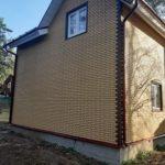 фасад с отделкой наружных стен